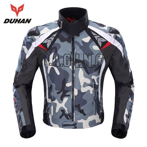 cloth moto jacket duhan camouflage men 39 s motorcycle racing jackets