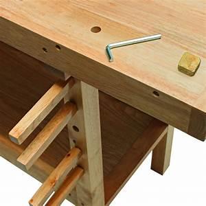 Werkbank Aus Holz : hobelbank werkbank aus holz 137x50x86 cm ~ Watch28wear.com Haus und Dekorationen
