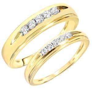 gold wedding ring set bridal sets yellow gold bridal sets wedding rings