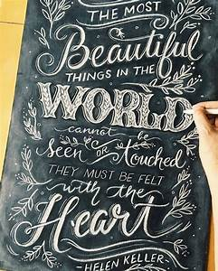 best 25 chalkboard lettering ideas on pinterest With chalk art lettering