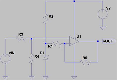 Schmitt Trigger Circuit For Push Pull Output Math