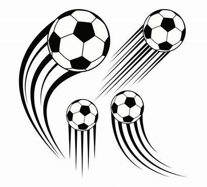 Line Football Soccer Ball Vector Balls Clipart