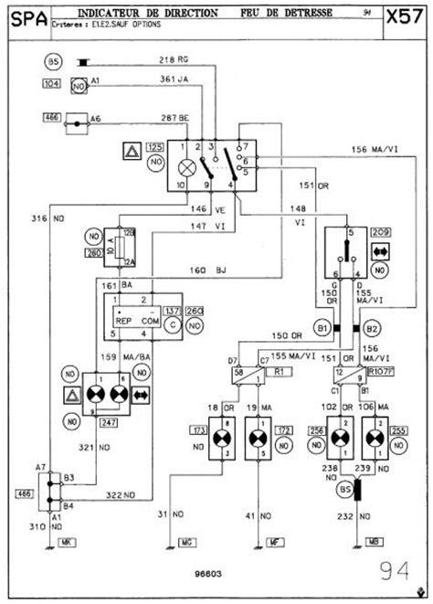 probleme clignotant sur clio 1 ph2 renault m 233 canique