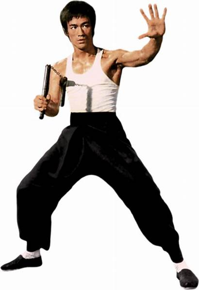 Bruce Lee Nunchaku Transparent Deviantart Martial Arts