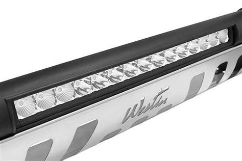 bull bar with led light bar westin ultimate led bull bar 20 quot light bar free shipping