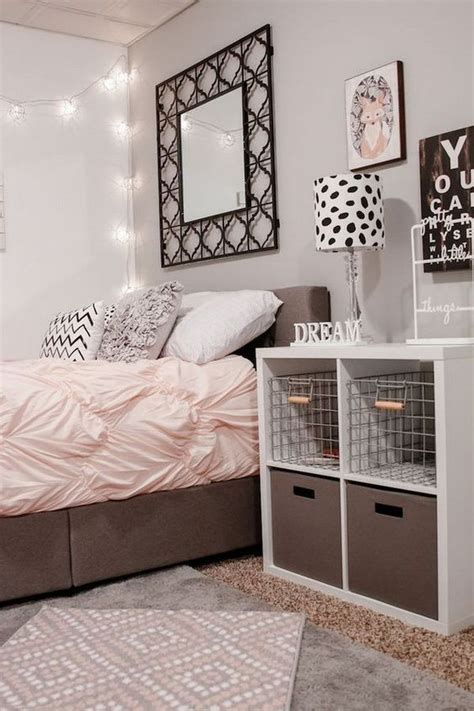 40+ Beautiful Teenage Girls' Bedroom Designs Stylish