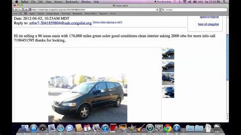 craigslist colorado springs   cars  trucks