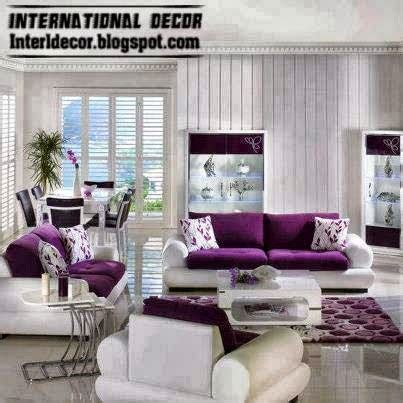 Living Room With Purple Sofa by Luxury Purple Furniture Sets Sofas Chairs For Living