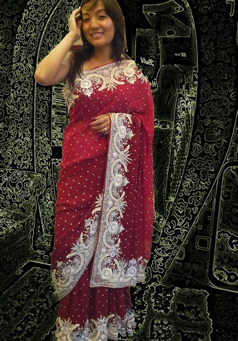 dry vermouth color red marun mix color and border saree with exclusive white