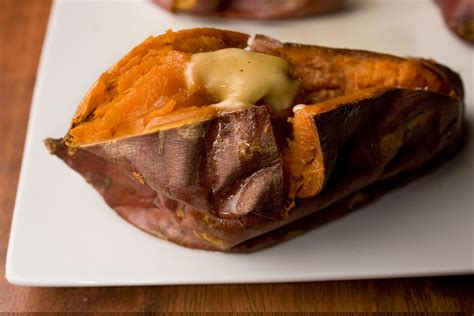 baked sweet potato recipe baked sweet potato recipe chowhound