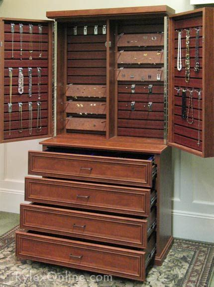 stand up cabinet stand up jewelry box stand or jewelry armoire made of wood