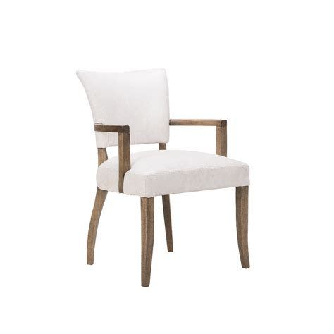 timothy oulton mimi dining chair  arms weathered oak