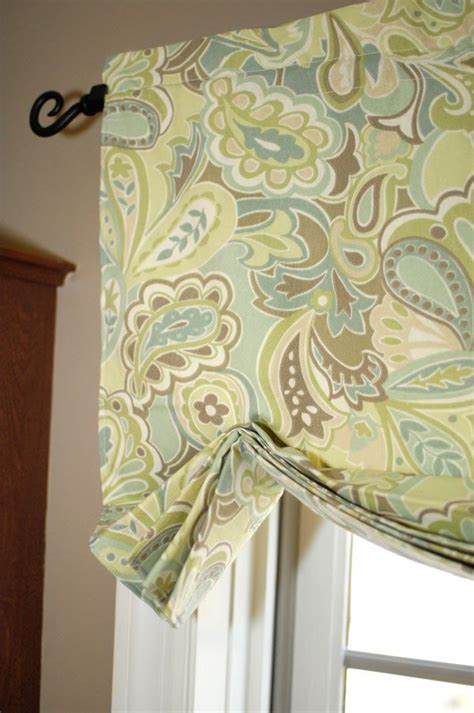 how to make a valance how to make the easiest curtains ever