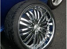 20 Inch Chrome Verde Madonna Rims And Tires