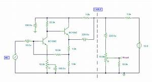 Audio Perimeter Monitor Circuit Diagram - Project