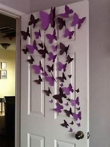 Decoraciones, Con, Mariposas, De, Papel