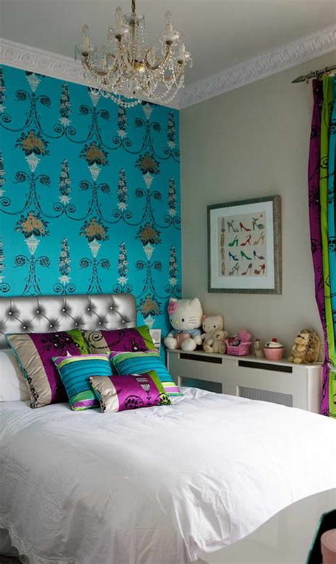 teal purple bedroom 25 teal bedroom designs you will to copy decoration 13481 | Purple and Teal Bedroom Design Ideas