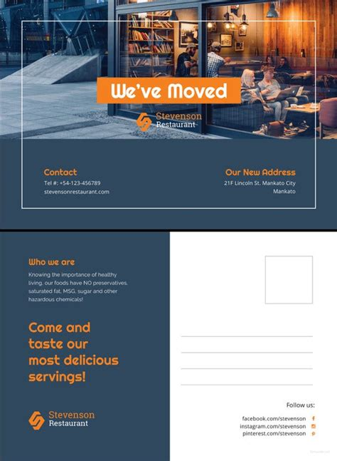 postcard design template   psd vector eps ai