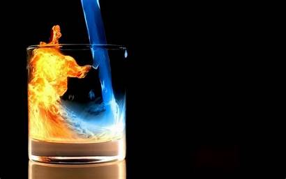 Fire Wallpapers Water Backgrounds Background Wallpapercave Source