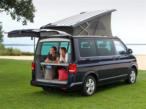 volkswagen california cer van models and types