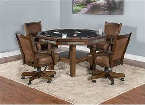 Sunny, Designs, Bar, And, Game, Room, Santa, Fe, Game, And, Dining, Table, 1005dc, -, Seaside, Furniture