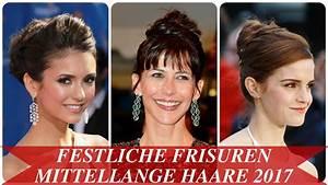 Frisuren Mittellange Haare : festliche frisuren mittellange haare 2017 youtube ~ Frokenaadalensverden.com Haus und Dekorationen
