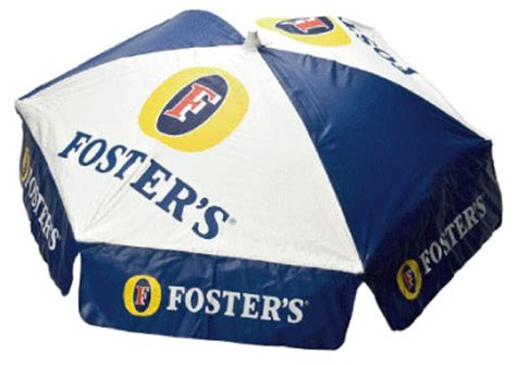 fosters patio umbrella the pub shoppe