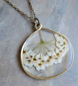 59 best pressed flower jewellery images on Pinterest ...