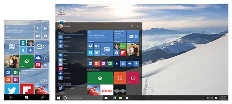 windows 10 et tablettes 7 pouces tuiles ou bureau
