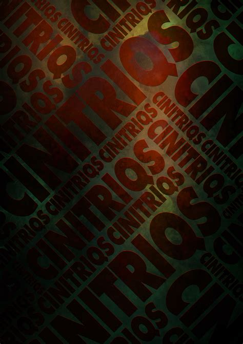 typographic poster exercise digital