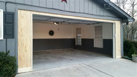 Carport An Garage by Carport To Garage Conversion Overhead Door Of