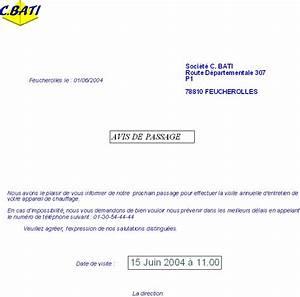 Avis De Passage : contrats ~ Medecine-chirurgie-esthetiques.com Avis de Voitures