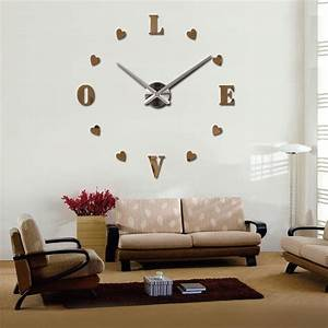 2016 Wall Clock Quartz Living Room Diy Clocks Modern