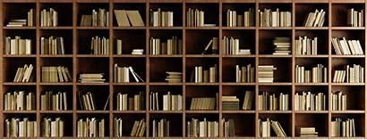 Bookcase Mural Bookshelves Natural Murals Wood Wallsauce