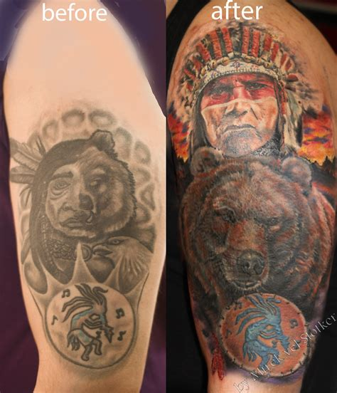 cover   bear  indian tattoo  mirek vel stotker