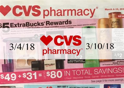 Cvs Sales by Cvs Sales Ad Scan 3 4 18 3 10 18 Page 4 Here S Your