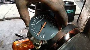Suzuki Shogun Rpm Meter Repaired  U0026 Tested By Arun
