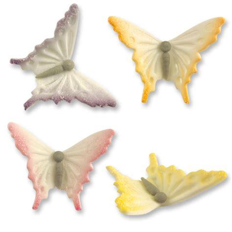 d 233 cor shop papillons en sucre fin assortis