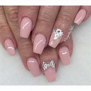 Light Pink Acrylic Manicure   www.imgkid.com - The Image ...