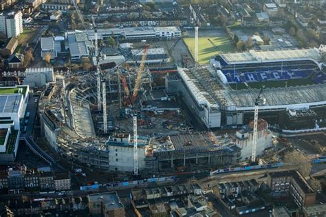Tottenham reveal latest aerial shots showing development ...