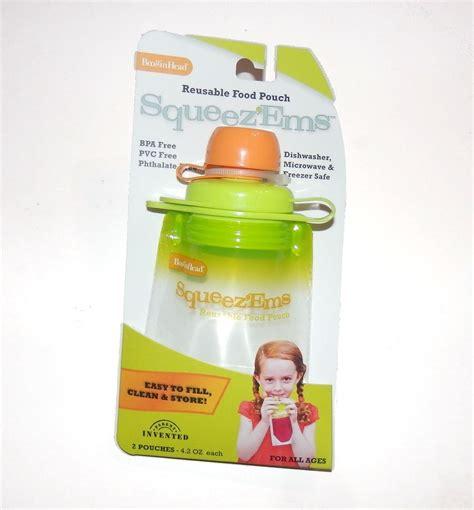 Booginhead Squeezems Reusable Food Pouches 42oz 2