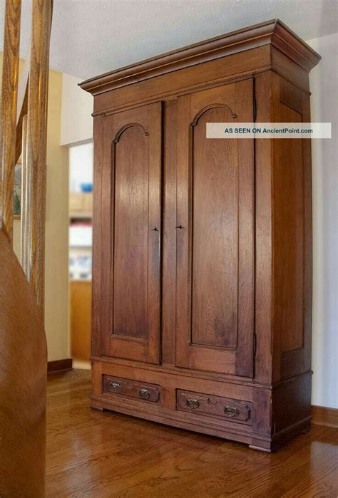 Coat Armoire Wardrobe by Ancientpoint Home In 2019 Antique Armoire Antique