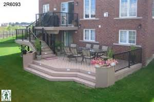 Two Level Deck Designs Photo by Planters Diy Deck Plans