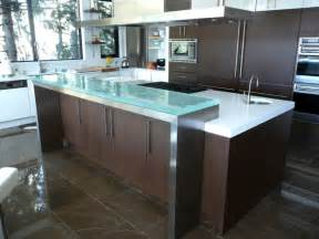 glass kitchen island raised glass countertop overview cgd glass countertops