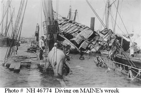 Pictures Of The Uss Maine Sinking by Events Sinking Of Uss Maine