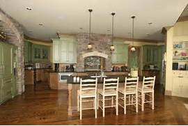 Country Kitchen Style For Modern House Design Contemporary Craftsman House Design With Country Style