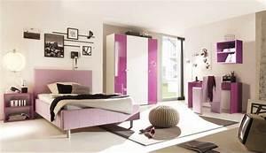 Jugendzimmer Komplett Mdchen Dass Bestehen Aus Rosa Betten