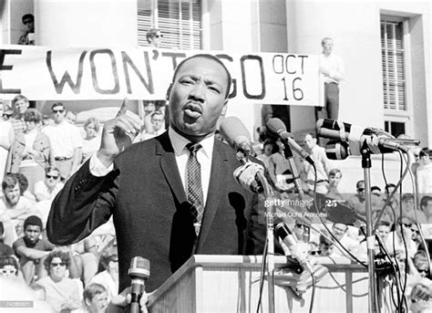 civil rights leader reverend martin luther king jr