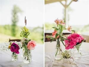 centre de table mariage fleurs quelques idees inspirantes With tapis chambre bébé avec centre de table fleur noel