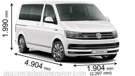 volkswagen caravelle dimensions volkswagen t6 multivan 2015 dimensions boot space and